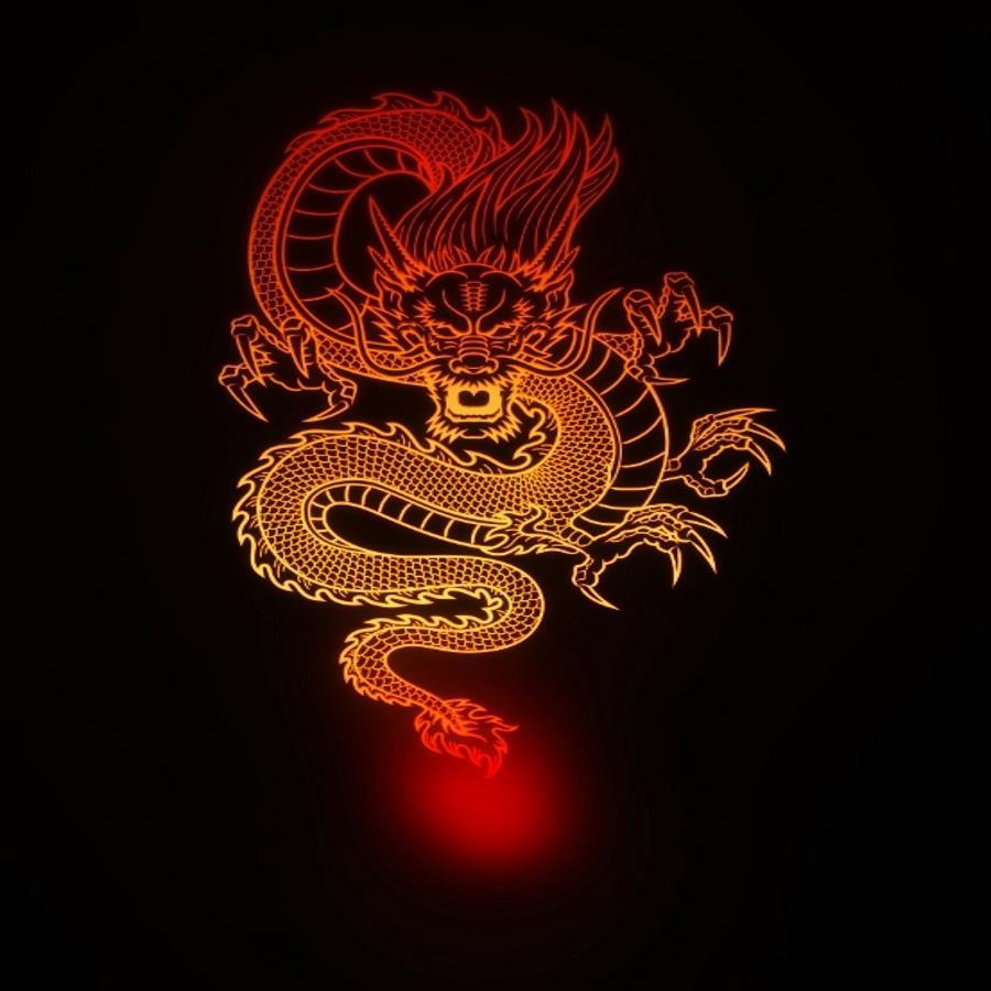 китайский дракон картинки для телефона второй